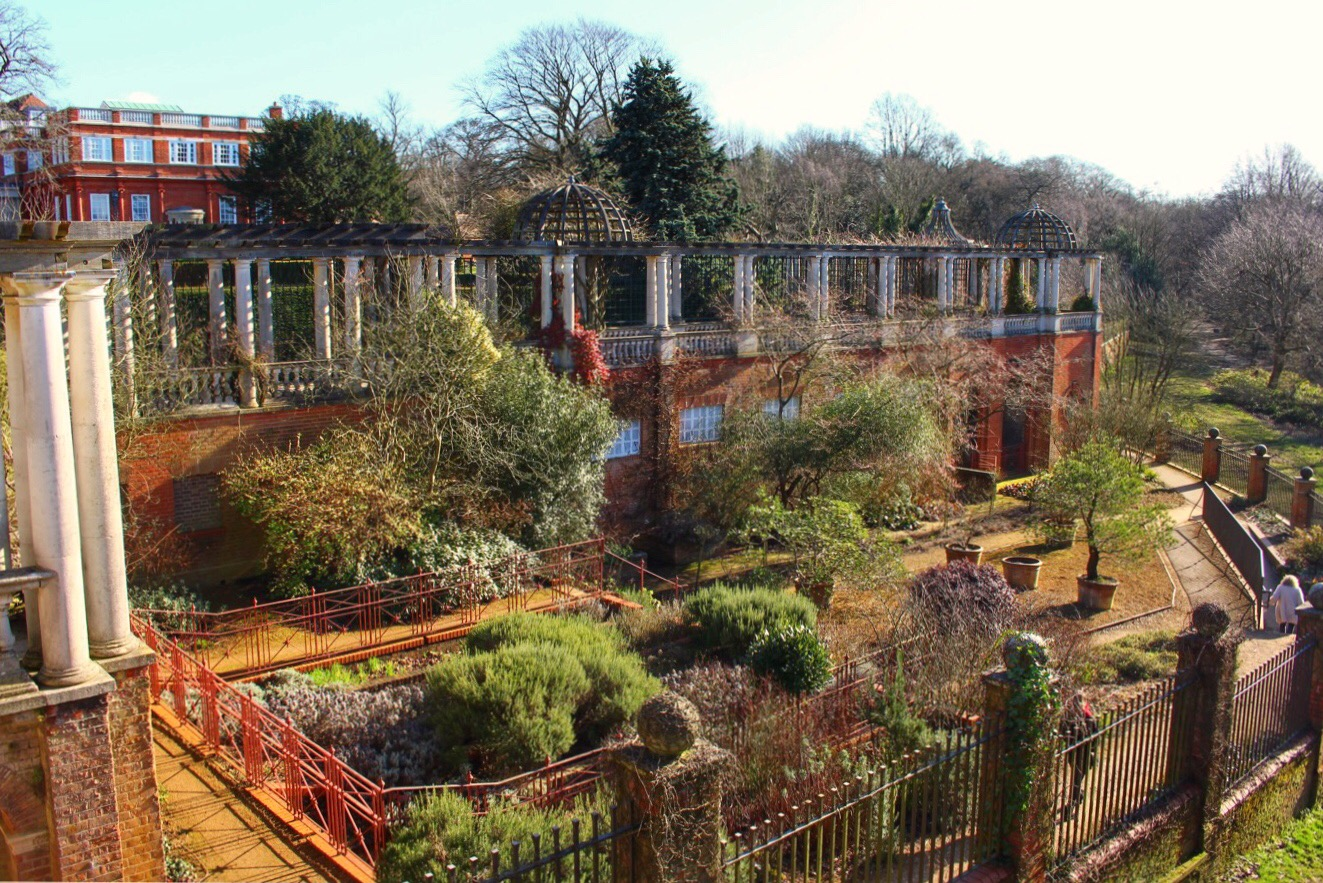 Hampstead Hill Gardens and Pergola