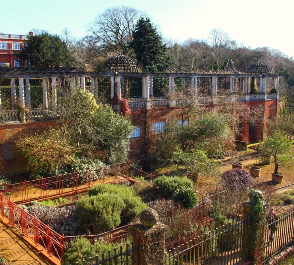 Hampstead Hill Gardens and Pergola