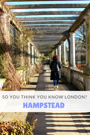 So you think you know London? - Hampstead Pin