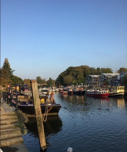 Twickenham on a lazy Sunday afternoon