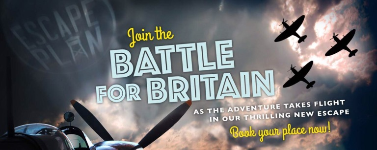 Escape Plan - Battle of Britain Escape Room Banner