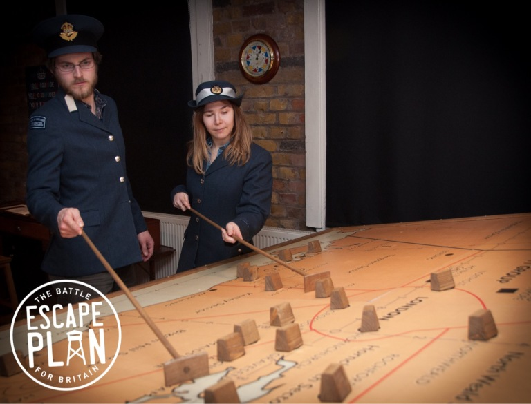 Escape Plan - Battle of Britain war table