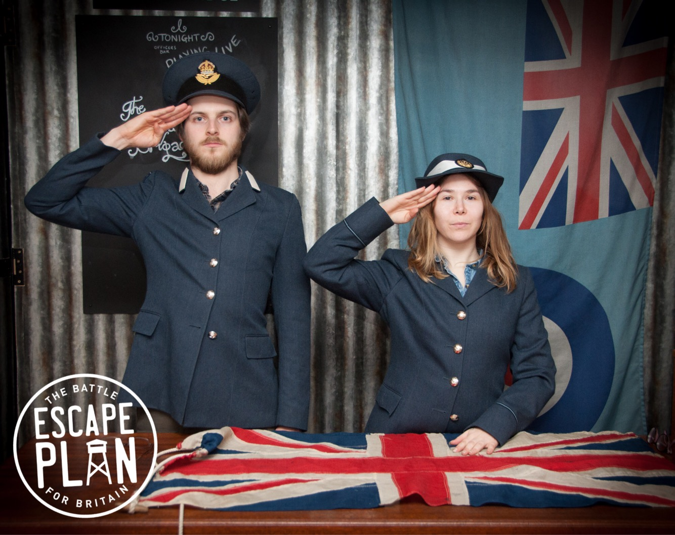 Escape Plan - Battle of Britain - Keep Calm and Carry on