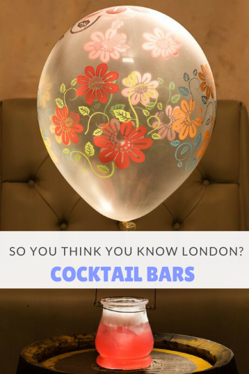 So you think you know London_ - Cocktail Bars